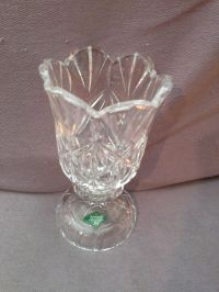 A Shannon Crystal Design Of Ireland Candle Holder For A 4 ...