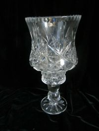 Vintage 24% Lead Crystal 2 Piece Candle Holder - Made In ...