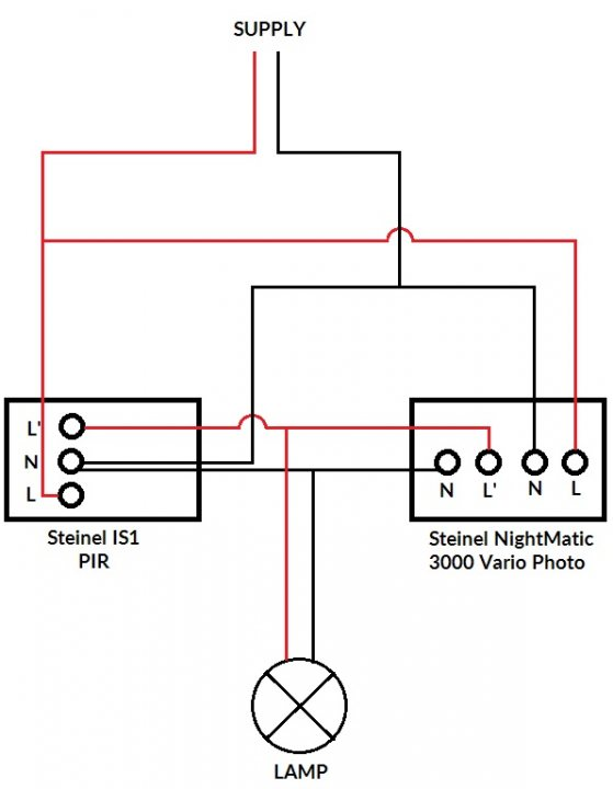 Wiring A Pir Outside Light electrical wiring diagram symbols