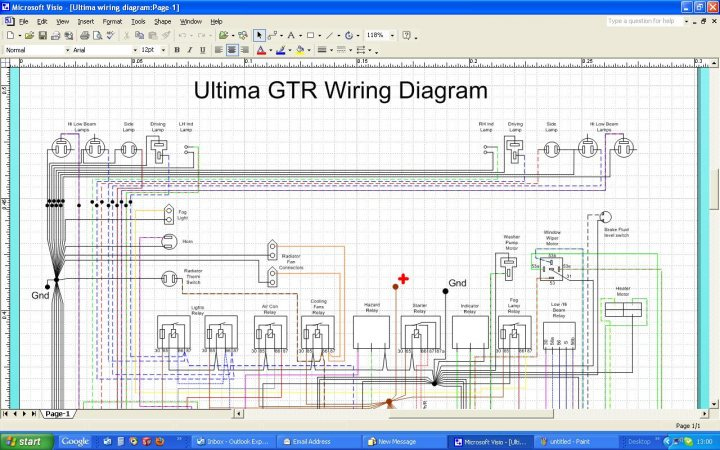 Ultima Wiring Harness Diagram - Wiring Solutions