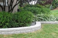 Garden Concrete Edging Gold Coast