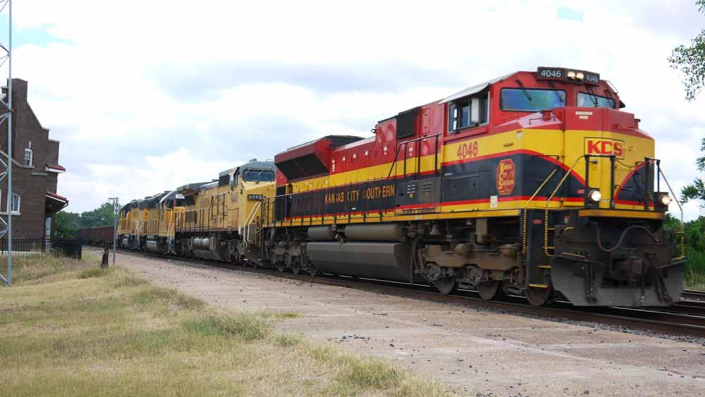 Trains Amtrak Texas Eagle 21 Little Rock Brinkley Ar Aug