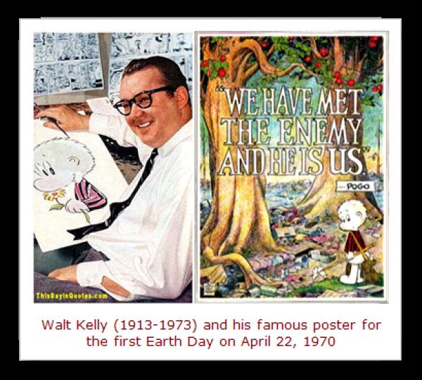Walt Kelly & Pogo Earth Day Poster