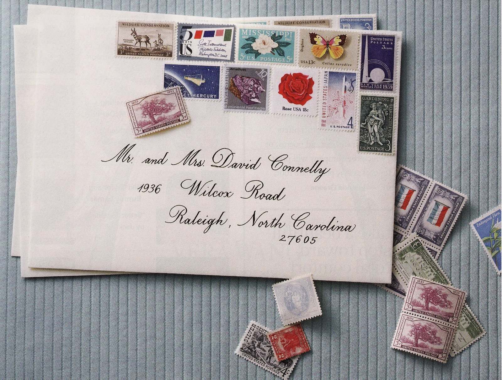 vintage stamps basics how to find and use them wedding postage stamps Image