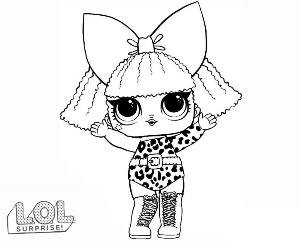 Pagine Da Colorare Con Bambole Lol Surprise 80 Immagini