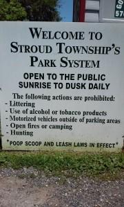 Stroud sign