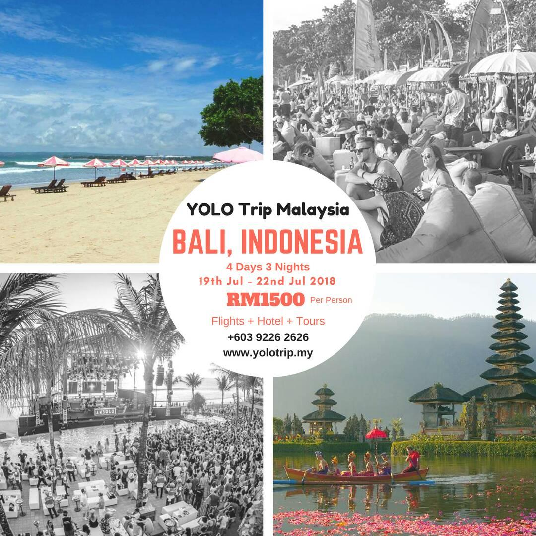 Indonesia Trip Yolo Trip Malaysia To Bali Indonesia Ticket2u
