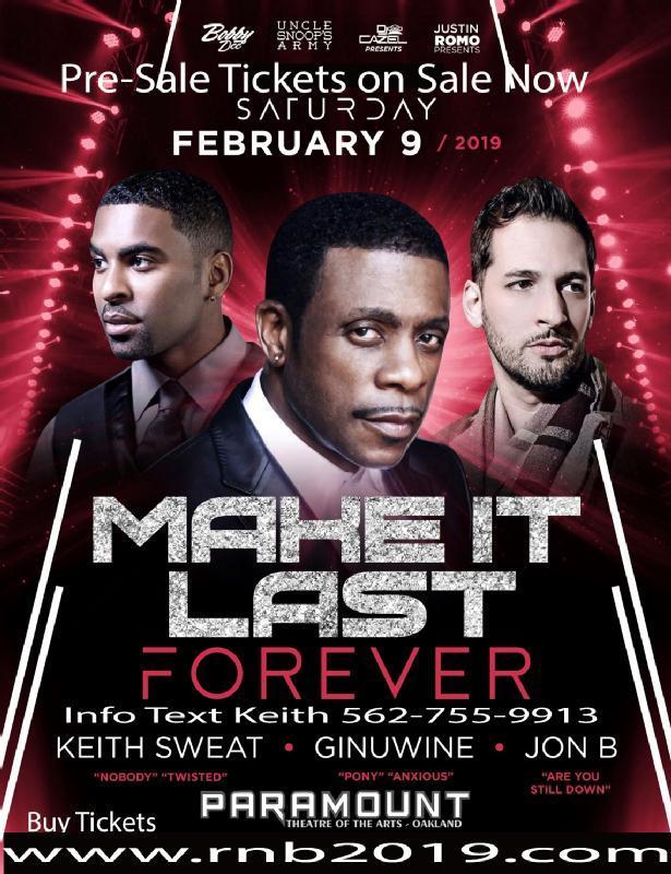 Make It Last Forever Concert February 2019