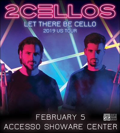 Tickets 2Cellos- Let There Be Cello VIP Packages accesso ShoWare