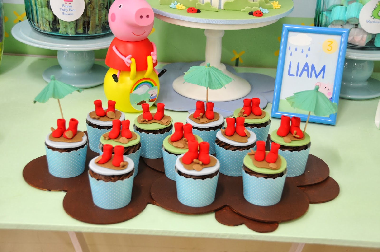 Cuisine Peppa Pig Peppa Pig Party Tickled Pink Party Ideas