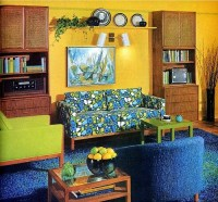 living room inspiration  60s/70s | tickle me vintage
