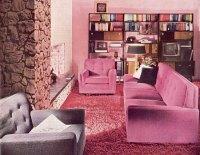70s living room | tickle me vintage