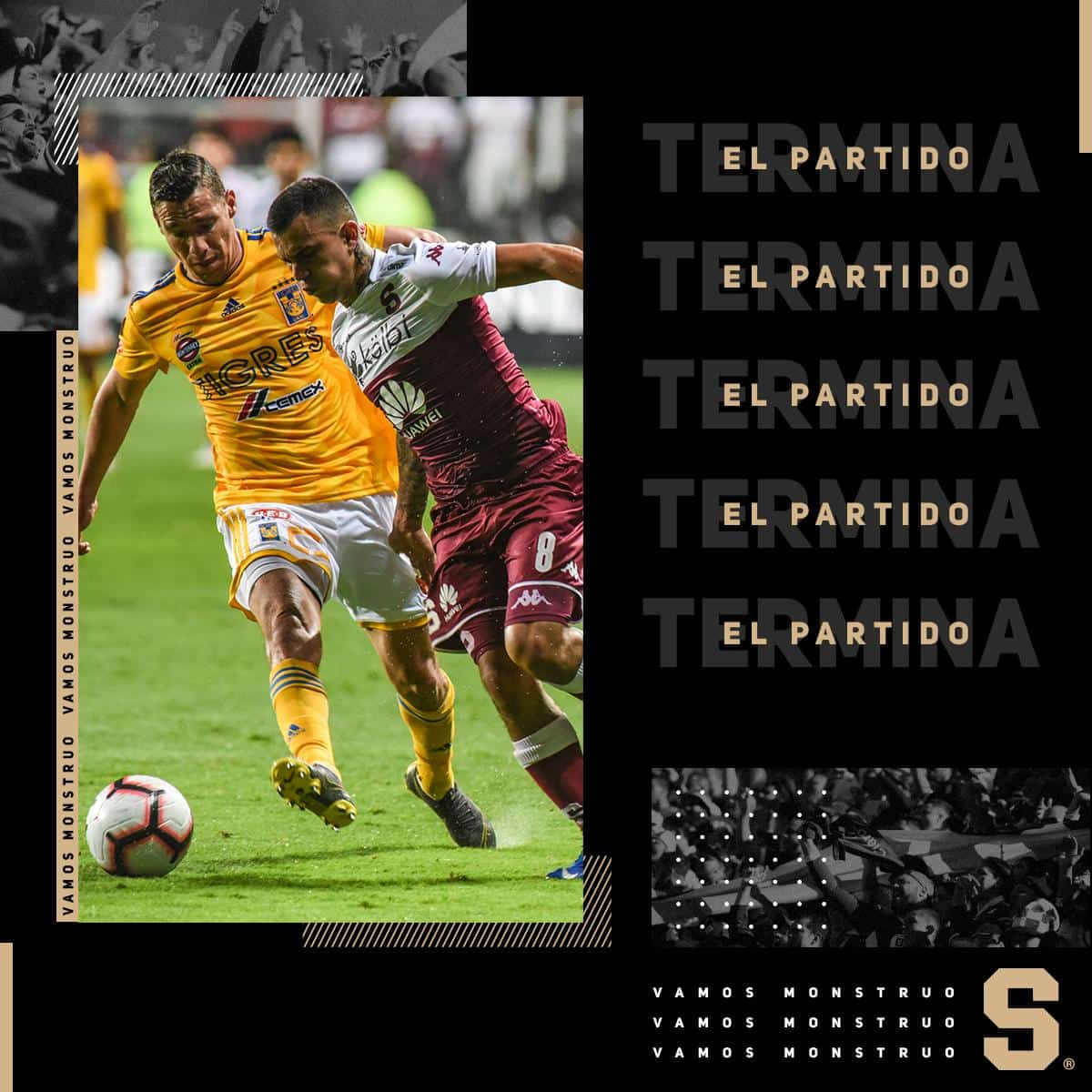 Tigres Saprissa Routed By Tigres Eliminated From Concacaf Champions