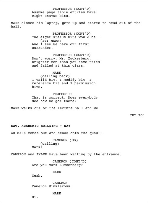 Formatting Screenplays with Fountain - TidBITS