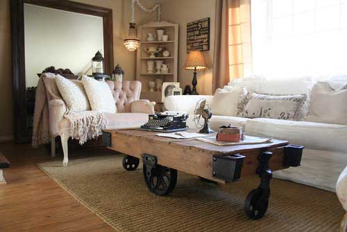 Couchtisch Retro Look Industrial Chic - Is It For You?