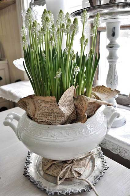 Pinterest Deko Frühling Decorating With White Ironstone {4 Fun And Fabulous Uses}