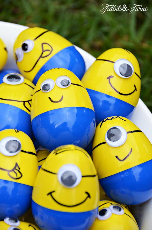 Minion Easter Egg DIY