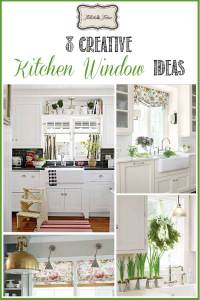 8 Ways to Dress Up the Kitchen Window {without using a ...