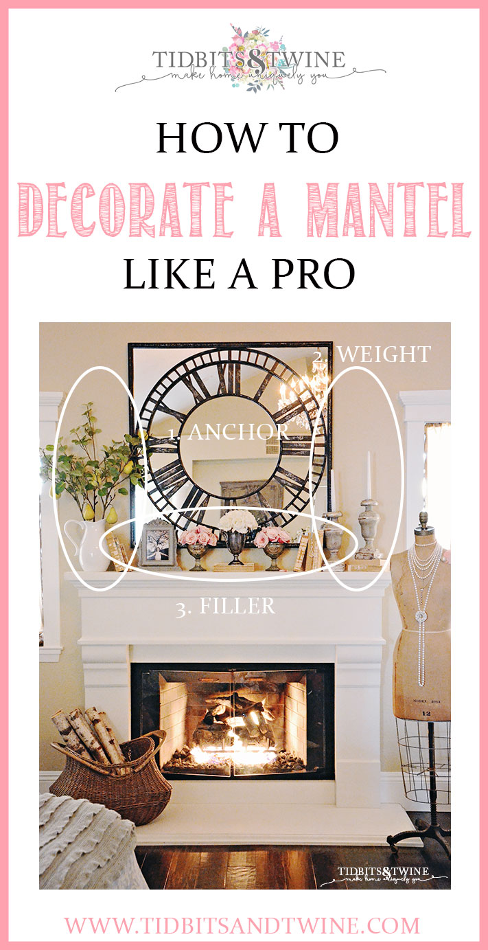 How To Decorate Fireplace How To Decorate A Mantel