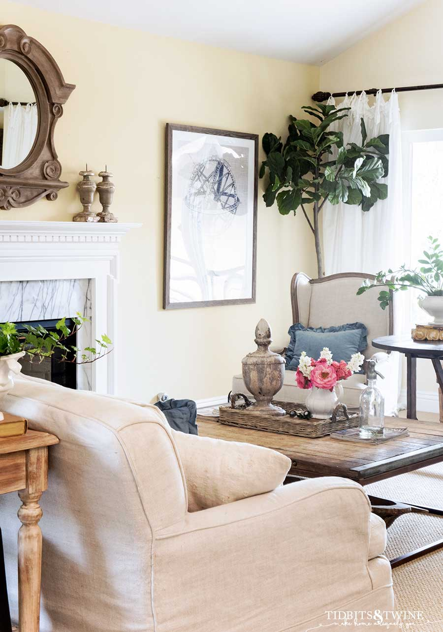 Living Room In French My French Inspired Living Room Spring 2019 Tidbits Twine