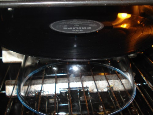 cooking a record