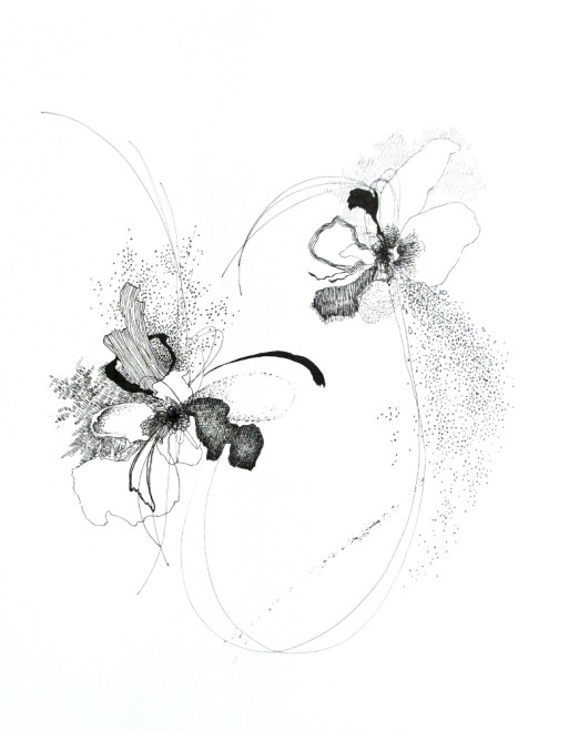 Verge 4, drawing by Christina Kwan | tide & bloom