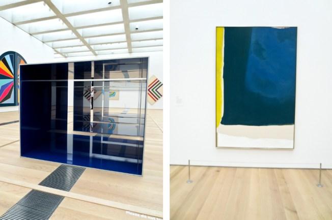 Donald Judd and Helen Frankenthaler, St. Louis Art Museum | tide & bloom
