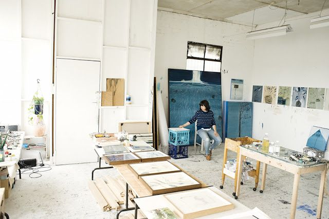 enviable studio spaces | tide & bloom