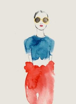 Bernadette Pascua fashion illustration