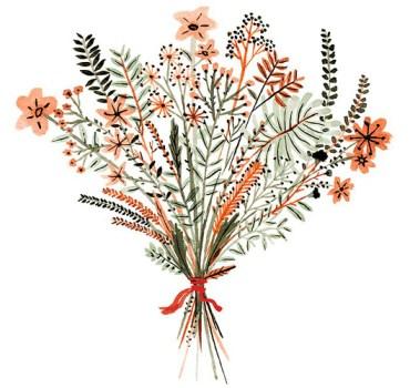 Vikki Chu floral illustration