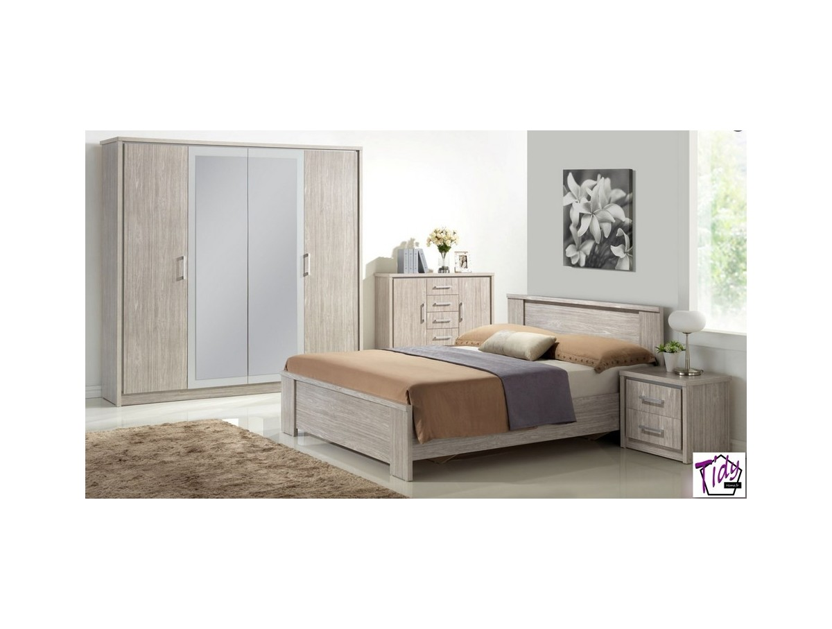Chambre Adulte Chambre Adulte Emily Grise Tidy Home