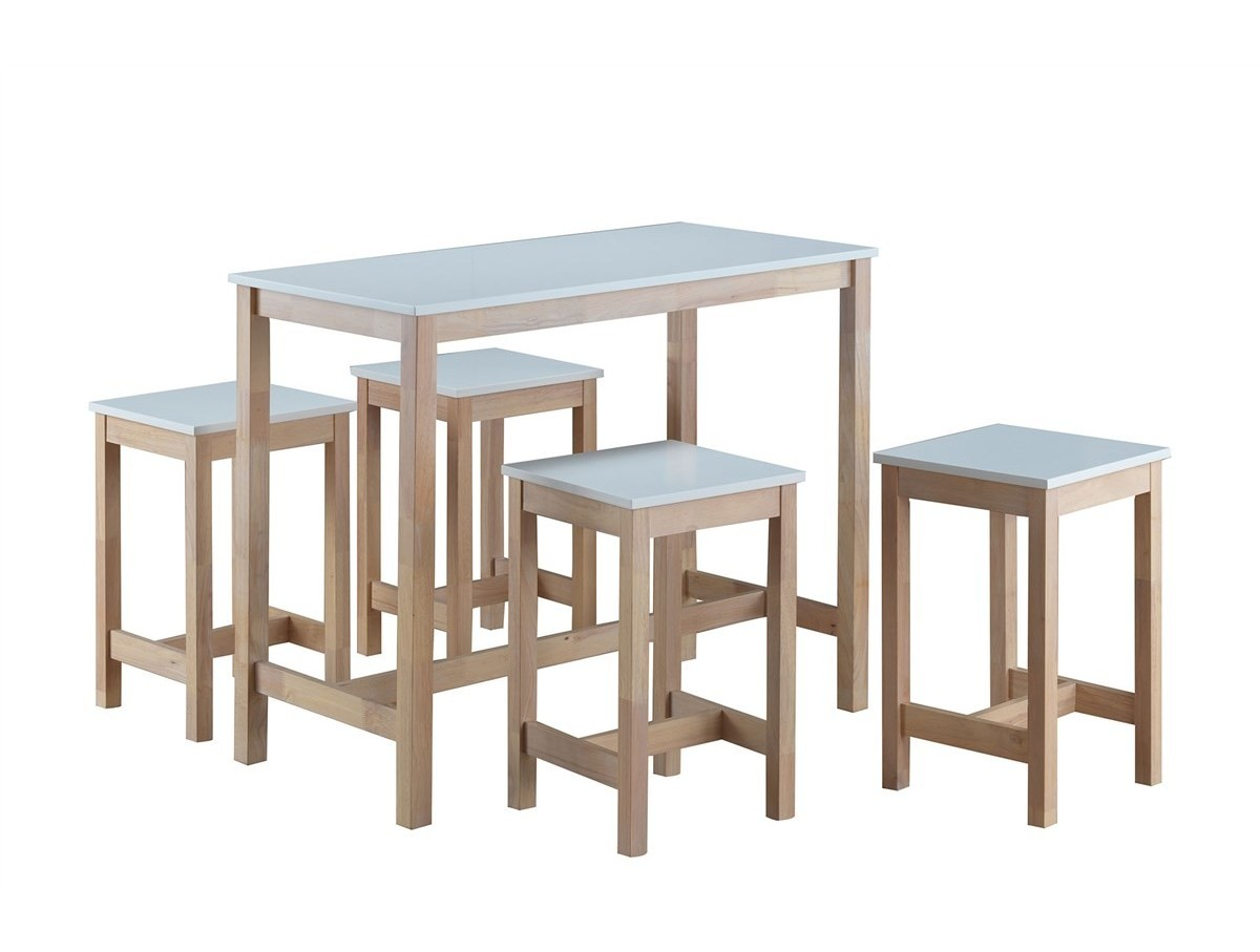 Table Haute Tabourets Table Haute 43 4 Tabourets Maude Tidy Home
