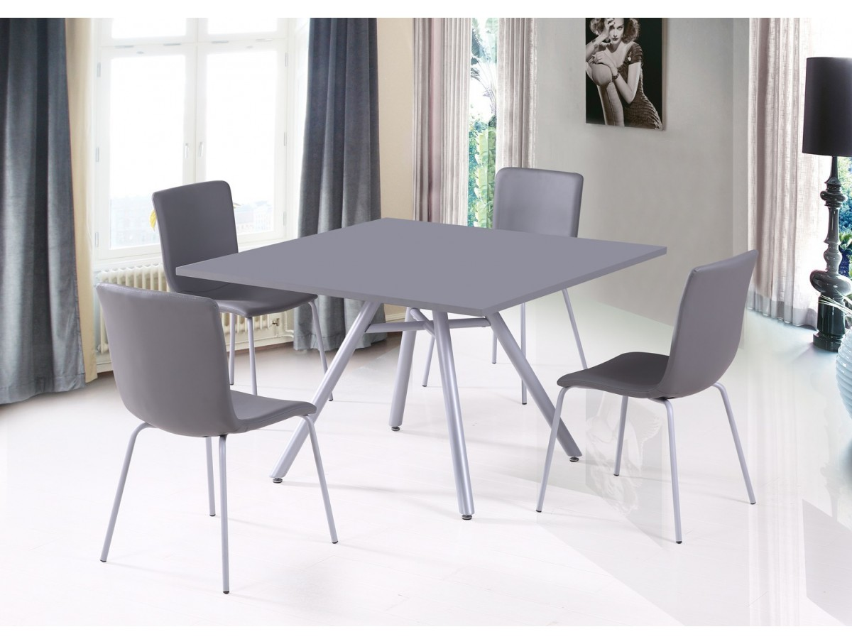 Ensemble Table Carrée Et Chaises Ensemble Table Carrée 43 4 Chaises Tidy Home