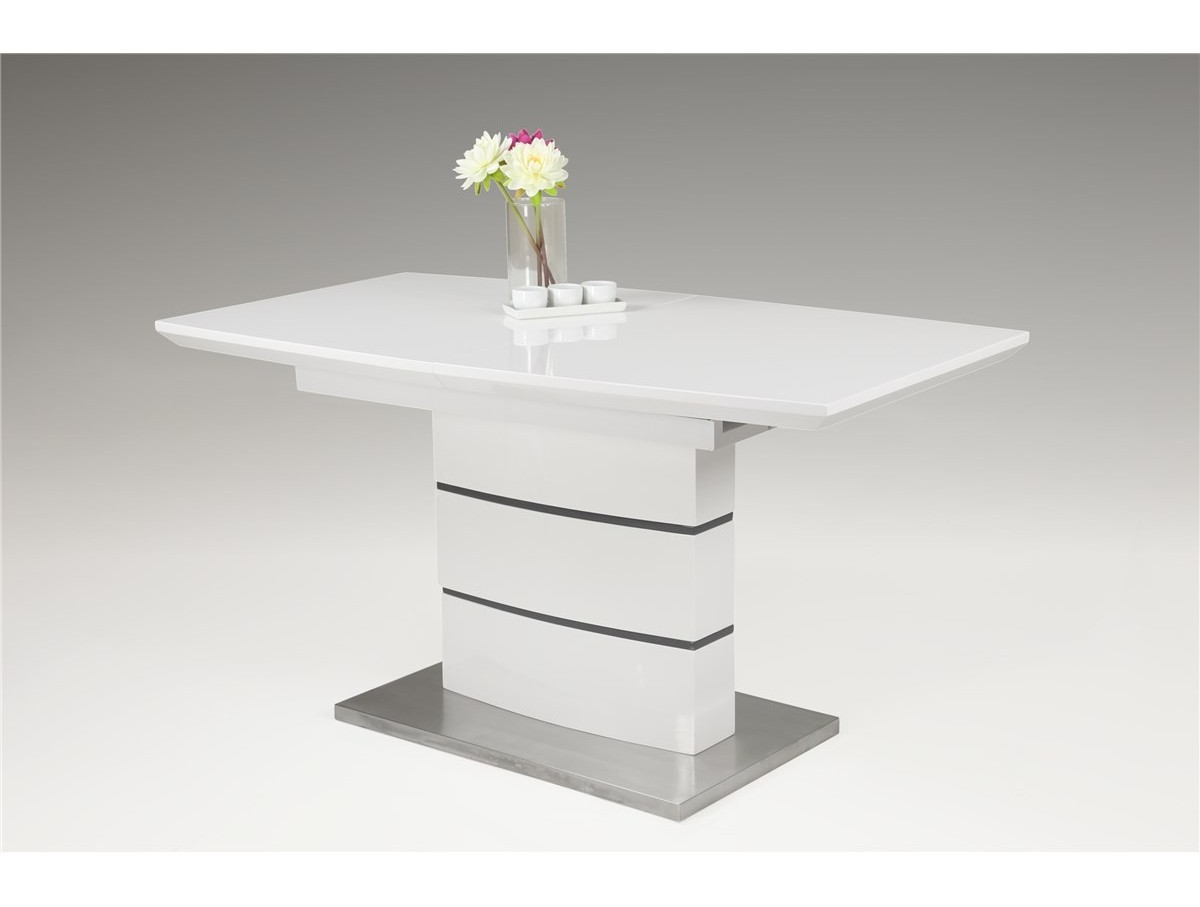 Table Pied Central Extensible Table Extensible Pied Central Clarisse Tidy Home