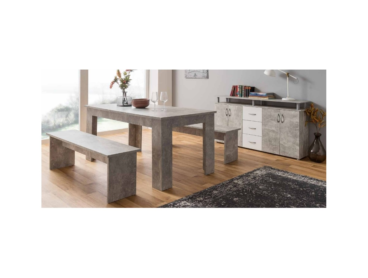 Sommier Lattes Extensible Salle A Manger Etretat Buffet Table Extensible Tidy Home