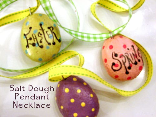Salt dough necklace traumspuren 154 aloadofball Choice Image