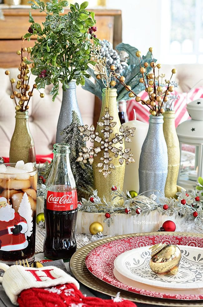 Ikea St Louis Glitter Painted Holiday Centerpiece | Tidymom®