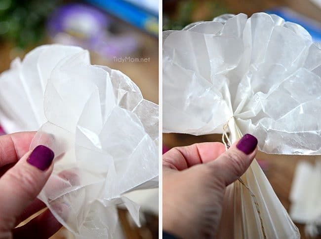 Wax Paper Bow Gift Wrapping Tips Tidymomr
