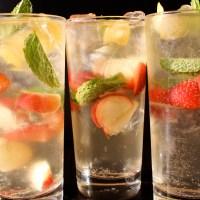 Gin infusé au thé et aux fruits d'été