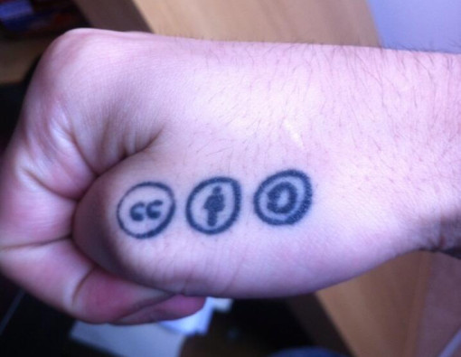 Oliver's Tattoo (cropped), by Oliver Keyes, used under CC BY-SA