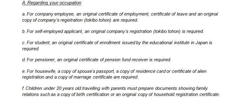 Thailands Multiple Entry Tourist Visa Requirements