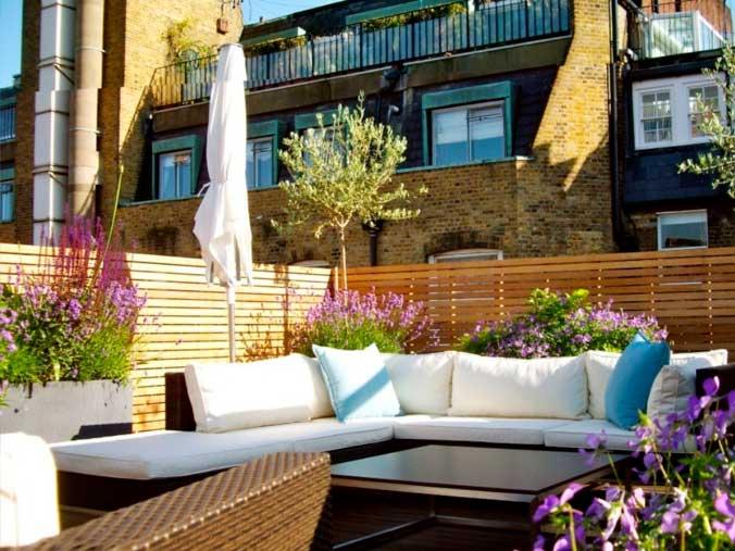 Uso de plantas para decoración de terrazas y balcones - Decoracion De Terrazas Con Plantas