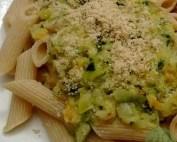 Zucchini-Paprika-'Sahne'-Sosse
