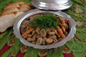 Zeytinyağlı İç Bakla – Dicke Bohnen mit Olivenöl