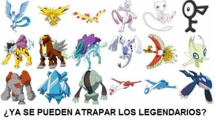 POKEMON GO POKEMONS LEGENDARIOS ATRAPAR