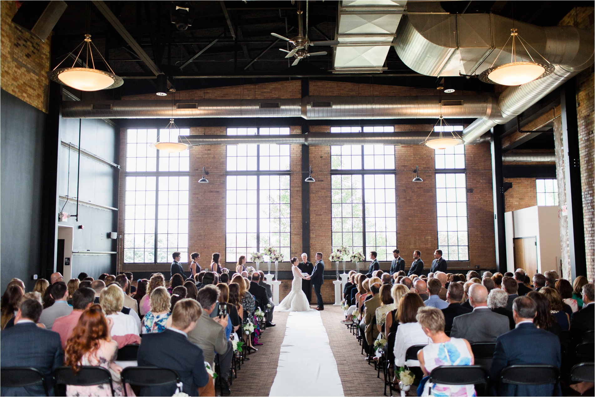Warehouse In Michigan The New Vintage Place Wedding Loft Warehouse Venue Grand