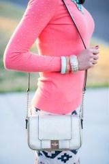 Tiffany Tank   Coral Sequins