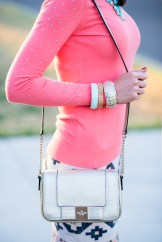 Tiffany Tank | Coral Sequins