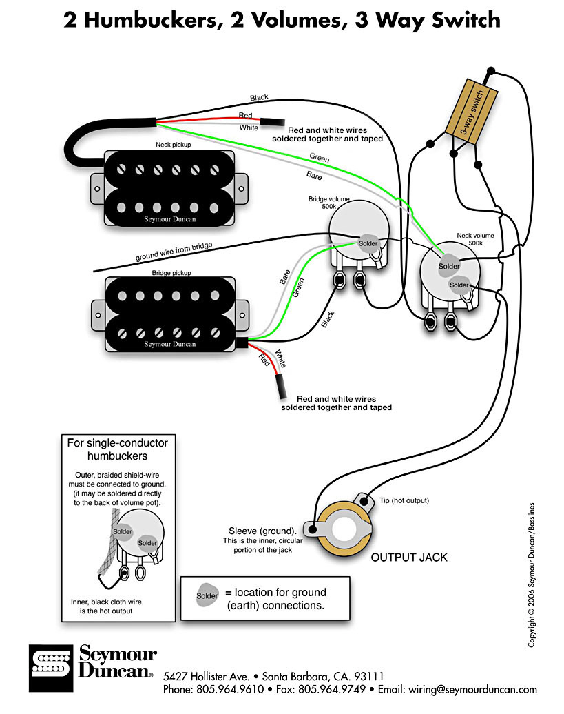 warlock guitar wiring diagram