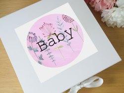 Small Of Baby Keepsake Box